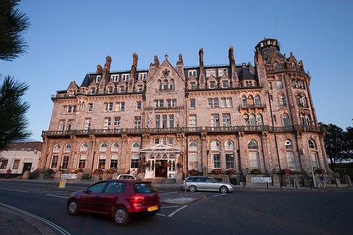 Hotel, Tudor Style, Windsor, English Architecture