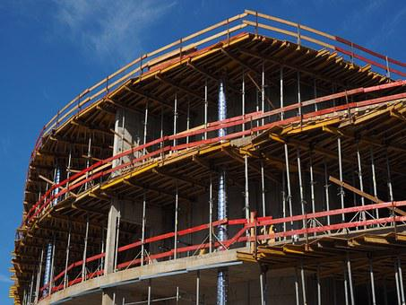 Shell, Home, Scaffold, Build, Site, Work