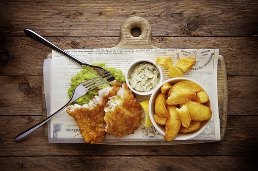 Food, Gourmet, Eat, Delicious, Potato, Wedges, Chicken