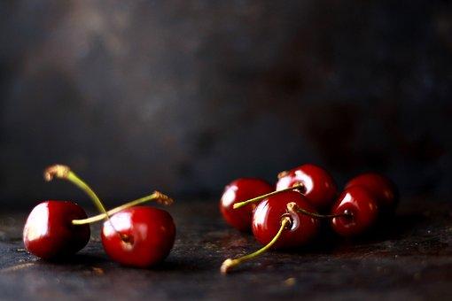 Fruits, Cherry, Food, Juice, Dessert