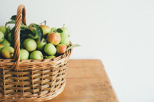 Apples, Fruits, Basket, Woven, Food
