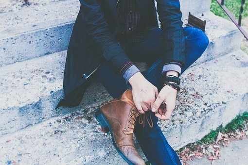 Guy, Man, Male, Sit, Cross, Legs, Fashion, Style, Shoes