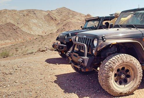 Transportation, Off, Road, Suv, Vehicle, Jeep, Wrangler