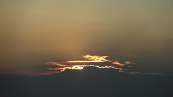 Nature, Sky, Clouds, Night, Dusk, Dawn, Sunrise, Sunset