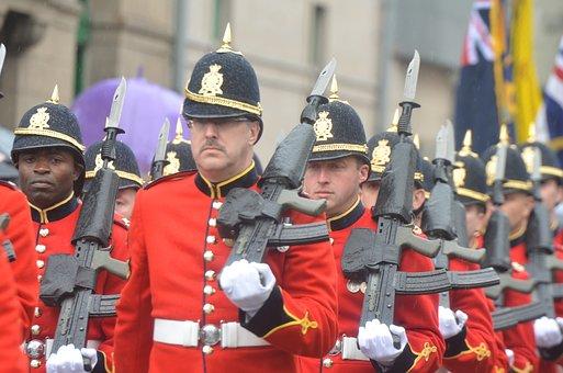 Army, Guns, Uniform, Parade, Military, Soldier, Rifle