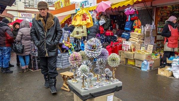 Odessa, Privoz, Trade, Sellers