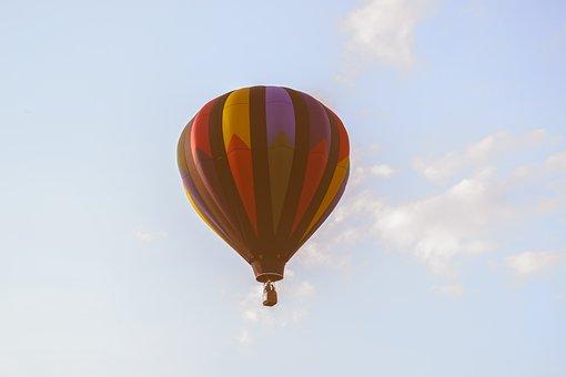 Still, Items, Things, Hot, Air, Balloon, Fly, Sky