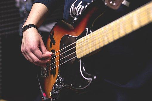 Crafts, Hobby, Music, Instrument, Guitar, Strum, Play