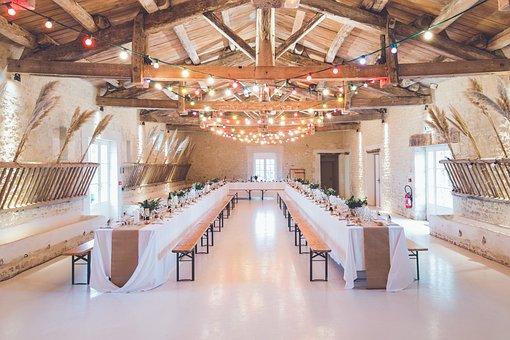Events, Venue, Banquet, Hall, Wedding, Party, Lights