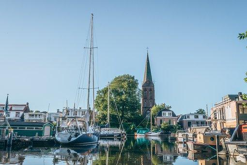 Towns, Village, City, Docks, Boats, Yachts, Marina
