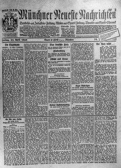 Newspaper, Old, 1925, Daily Newspaper, Information