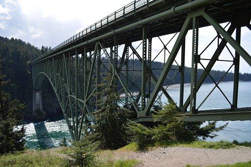 Architecture, Bridges, Structures, Steel, Industrial