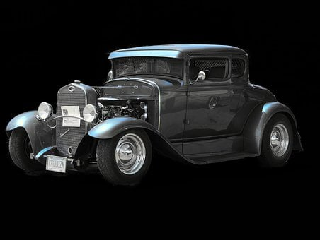 Rod, Chevy, Automobile
