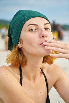 Model, Cigarette, Girl, Woman, Photography, Nicotine