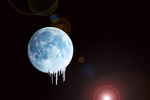 Moon, Night, Sky, Full Moon, Night Photograph, Darkness