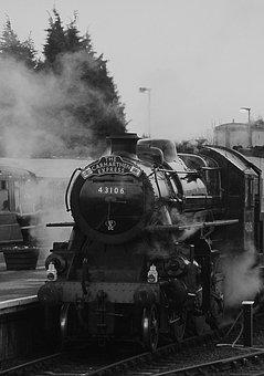 Transportation, Train, Rail, Express, Steel, Iron