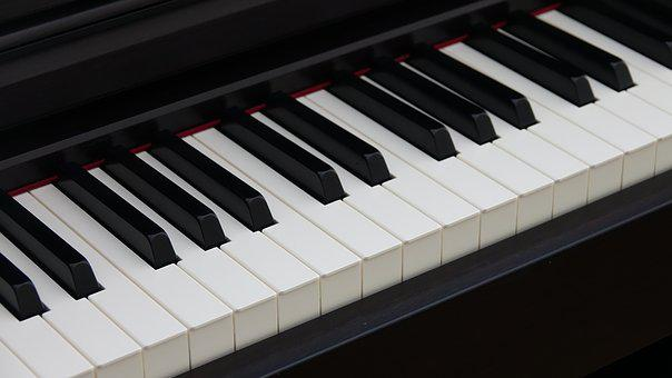 Piano, Keys, White, Black, Music, Instrument, Musical