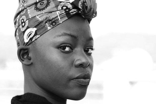 Africa, Woman, People Of Uganda, Head Wraps, Dashiki