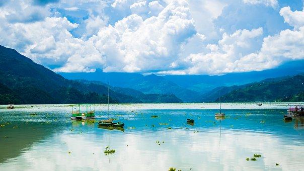 Lake, Fewa Lake, Nepal, Nature, Fewa, Pokhara, Phewa