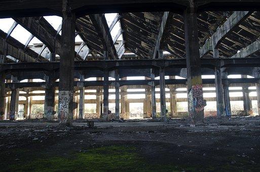 Abandonment, Oblivion, Santiago, Chile, Maestranza