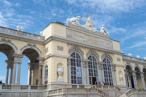 Vienna, Schönbrunn, Schönbrunn Palace, Castle