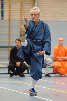 Tai, Chi, Shaolin, Kick, Martial, Doctor, Martial Arts