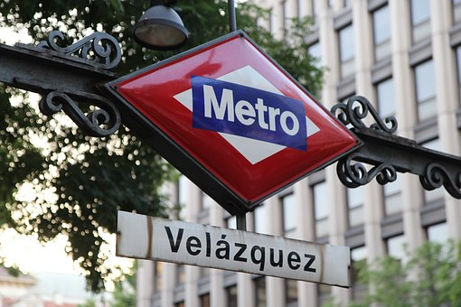 Madrid, Metro, Subway, Station, Underground