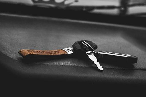 Still, Items, Things, Keys, Keychain, Lock