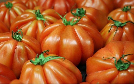 Tomato, Red, Fresh, Market, Food, Organic, Healthy