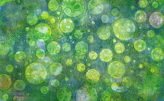 Background, Green, Blue, Background Abstract