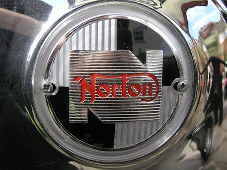 Norton, Bike, Badge, Emblem