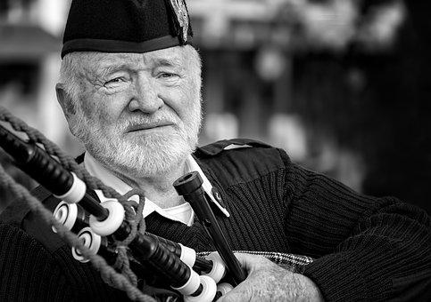 Bagpipe, Black, Scotland, Musical, Instrument