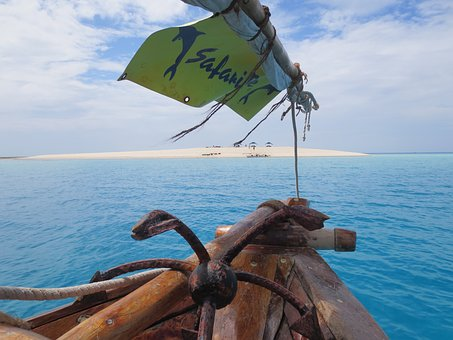 Sea, Boat, Blue, Water, Holiday, Horizon, Escape