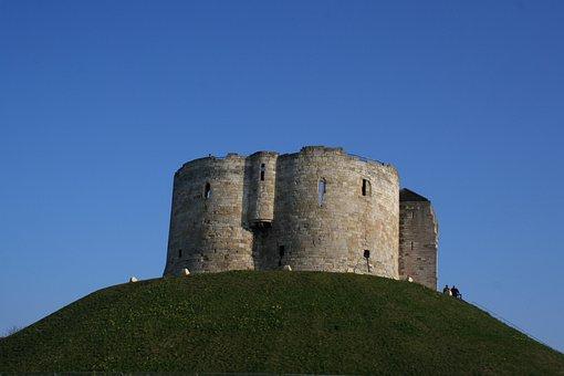 Castle, Mound, Building