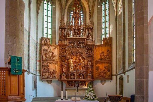 Besigheim, City Church, Cyriacus, Church, Gothic