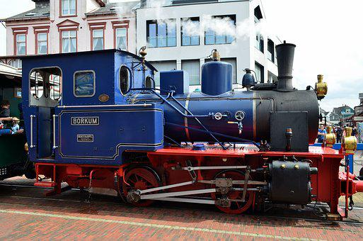 Borkum, Small Ground, Diesellock, Steam Railway