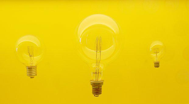 Lamp, Idea, Yellow, Philips, Edison, Bulb, Light