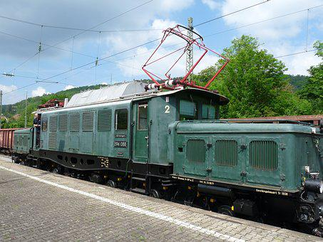 Electric Locomotive, E94 088, Farewell Travel