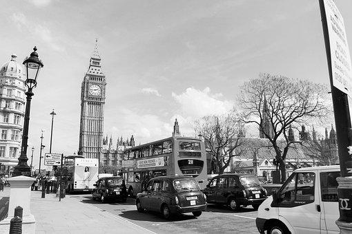 London, Big Ben, England, Clock, Ben, Big, Tower