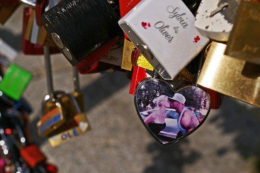 Padlocks, Castles, Love, Love Locks, Love Symbol, Metal