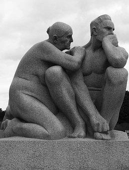 Sculpture, Sculpture Park, Gustav Vigland, Oslo, Norway