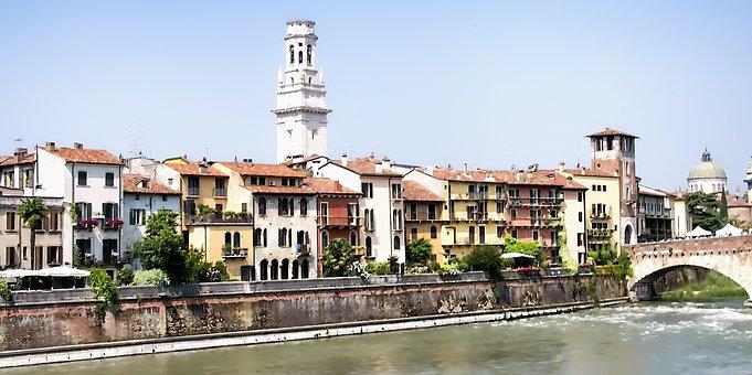 Verona, Europe, Italy, Italian, Architecture, City, Old