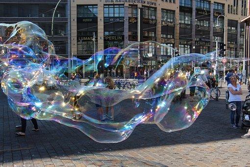 Soap Bubbles, Berlin, Giant Bubble