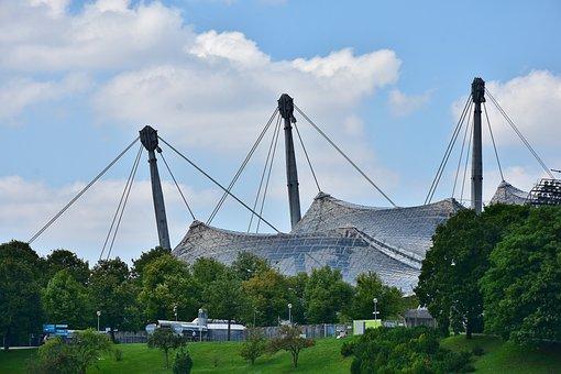 Olympic Stadium, Stadium, Architecture, Building