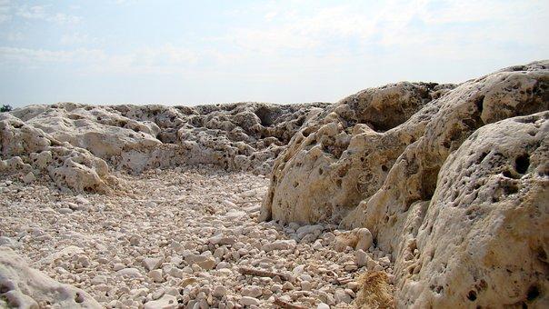 Lunar Landscape, Rocks, Desert, Boulders, The Stones