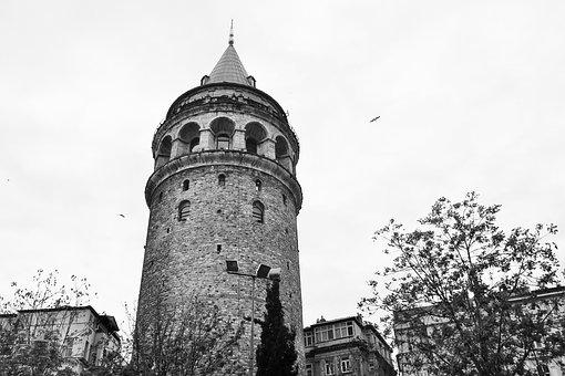 Galata Tower, Turkey, Architecture, Galata, Istanbul