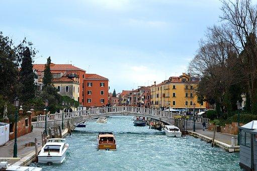 Venice, Canal, Italy, Travel, Water, Tourism, Venezia
