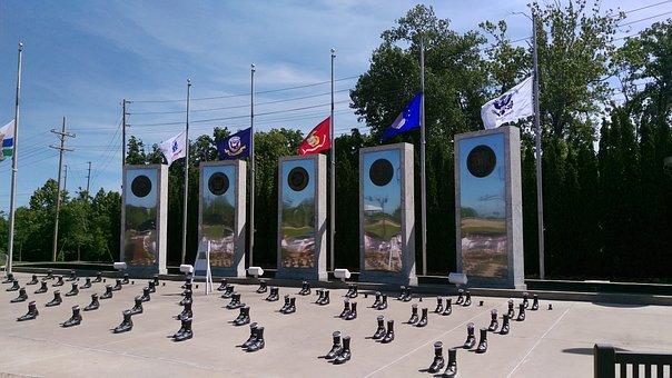 Veteran, Memorial, Military, Patriotic, War, Honor