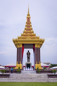 Statue, Of King Father, Norodom Sihanouk, Ancient