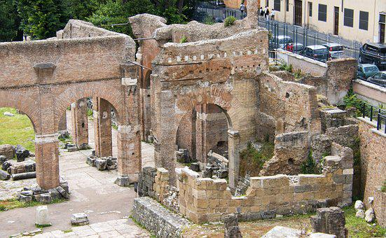 Rome, Roma, Italy, Forum, Architecture, Famous, Italian